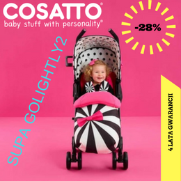 COSATTO WÓZEK SPACEROWY SUPA GOLIGHTLY -28%